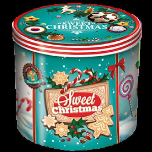 Panettone Balocco mit Weihnachtsdose