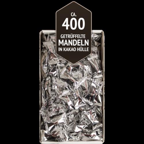 Getrüffelte Mandeln in Kakaohülle Zandegiacomo ca. 400 Stück