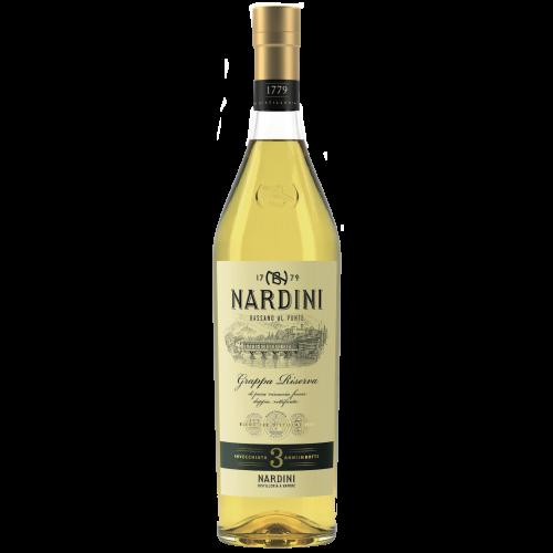 Grappa Nardini Riserva 1,00 Liter, 50%Vol.