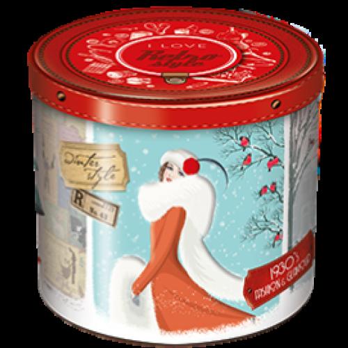 Pandoro Balocco mit Weihnachtsdose