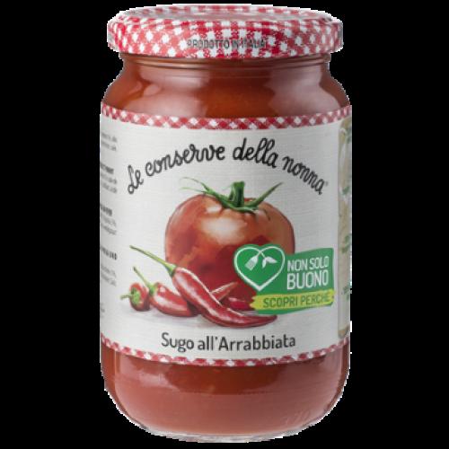 Tomatensoße mit Paprika und Chili le Conserve della Nonna 190 G